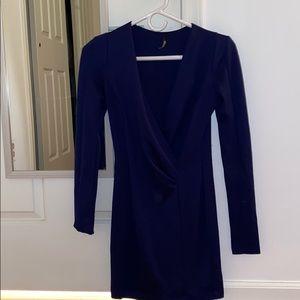 Tight Long-Sleeve Dress